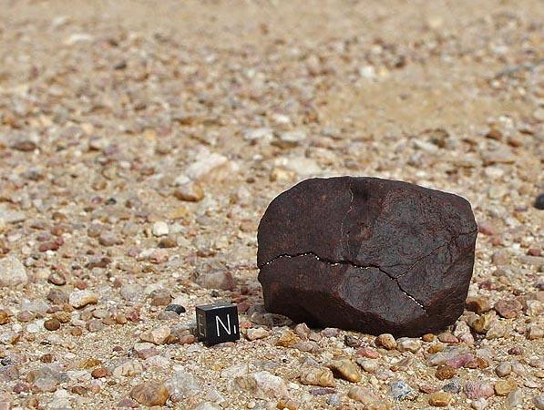 Meteorites in situ