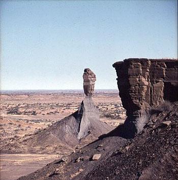 Mukurob, God's finger, Namibia