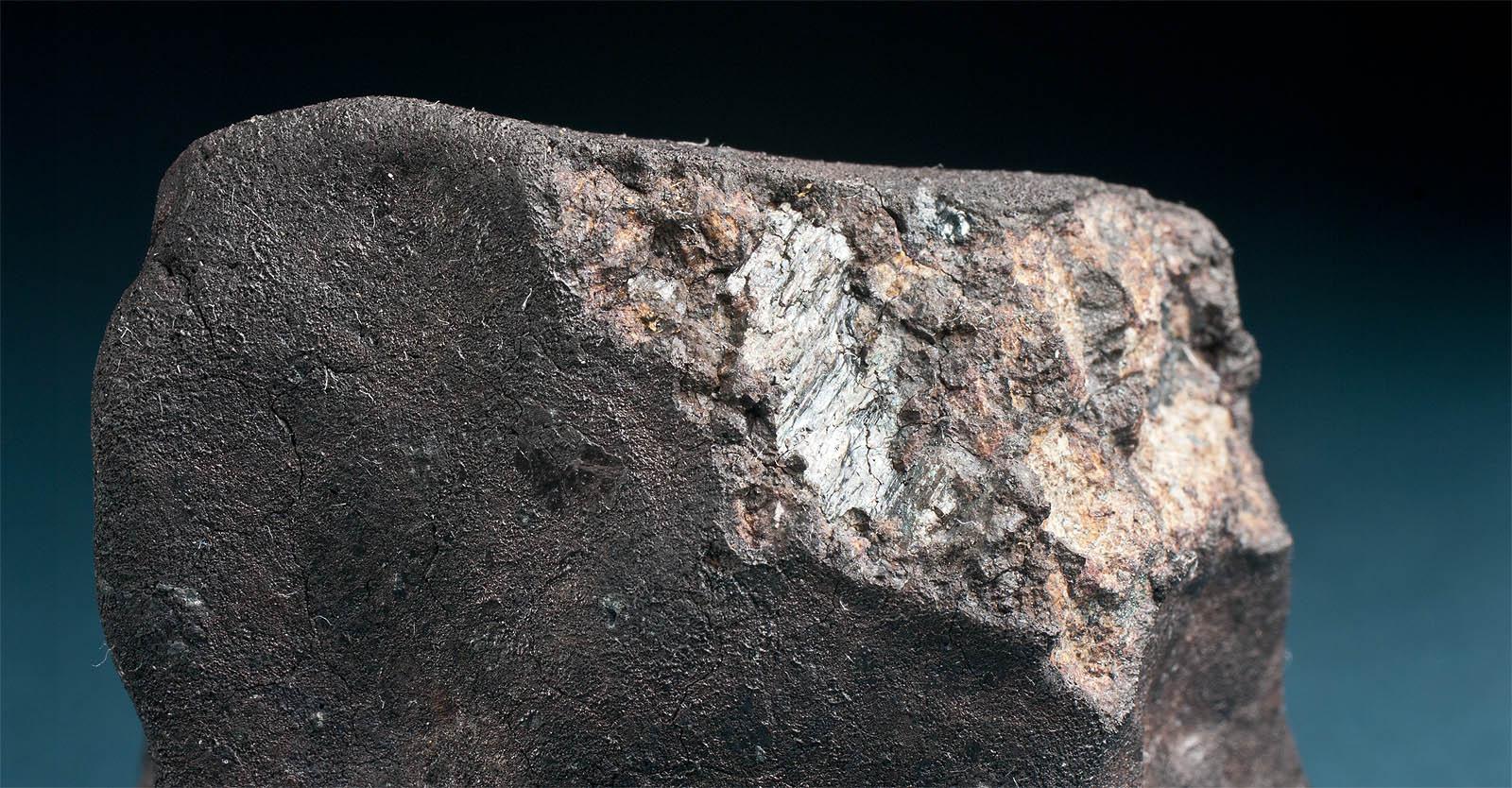 Slickensides on Chelyabinsk Meteorite