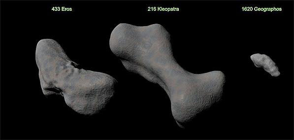Asteroid 216 Kleopatra